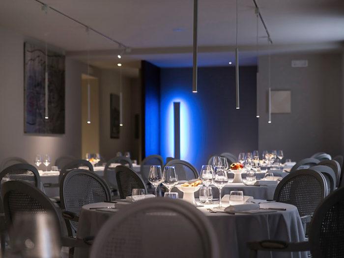 I due Buoi restaurant interior design